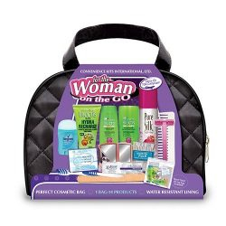Convenience Kits Woman On The Go Premium Fructis 14-piece Travel Kit