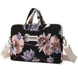 Dachee Black Lotus atten Waterproof Laptop Shoulder Messenger Bag Case Sleeve for 14 Inch 15 Inc ...