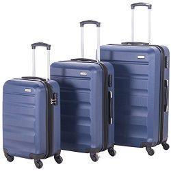 Pianeta Expandable Spinner Luggage Sets Lightweight HardShell Suitcase Set 3pcs 20inch Carry On  ...