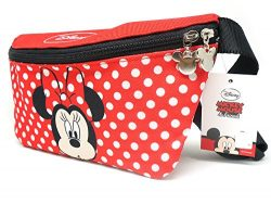 Disney Minnie Mouse Zippered Waist Pack Belly Bag