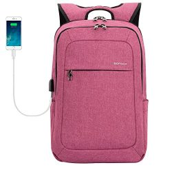 Kopack College Laptop Backpack With Usb Charging Port Anti Theft Travel Backpack Fits 15.6 Inch  ...