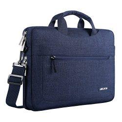 Mosiso Polyester Messenger Laptop Shoulder Bag for 11.6-13.3 Inch MacBook Air, MacBook Pro, Note ...