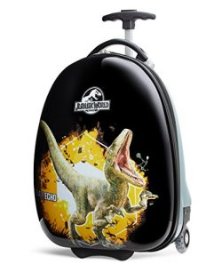 Travelpro Jurassic World Kid's Hard Side Luggage, Yellow, One Size