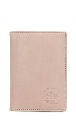 Herschel Supply Co. Unisex-Adults Raynor Passport Holder Rfid Blocking Wallet, Ash Rose, One Size