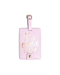 ban.do design The Getaway Luggage Tag – I'm Outta Here (55124)