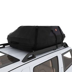 Sailnovo 20 Cubic Feet Car Roof Top Carrier, Water Resistant Car & Van Soft Rooftop Travel C ...