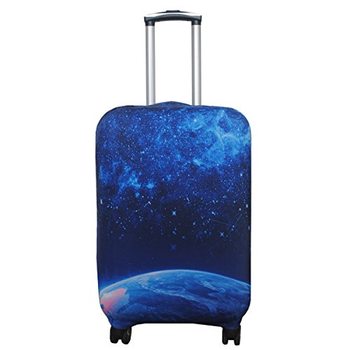 Explore Land Travel Luggage Cover Suitcase Protector Fits 18-32 Inch Luggage (Star, L(27-30 inch ...
