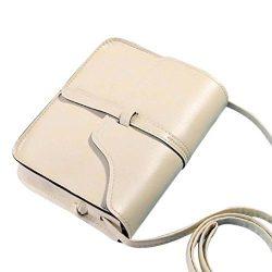 Vintage Crossbody,Clearance! AgrinTol Vintage Purse Bag Leather Crossbody Shoulder Messenger Bag ...
