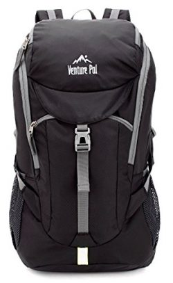 Venture Pal 50L Large Hiking Backpack – Durable Packable Lightweight Travel Bagpack Daypac ...