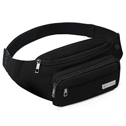 MYCARBON Fanny Pack for Women and Men,Large Capacity Waist Pack Non-bounce Running Belt for Trav ...