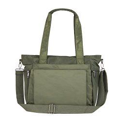 ZORESS Women Fashion Large Tote Shoulder Handbag Waterproof Multi-function Nylon Travel Messenge ...