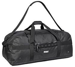 Fitdom XL Sports Equipment Duffel Bag (X-L 36 In – Black)