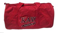 G1160 – Kappa Alpha Psi Fraternity Medium Barrel Duffel Bag Nupe