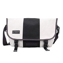 Timbuk2 Classic Messenger Bag, Heirloom White/Black, Medium