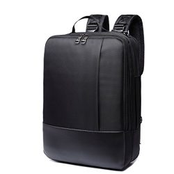 Laptop Backpack Slim Convertible Briefcase Water-Resistant Business Travel Luggage Carrier Messe ...