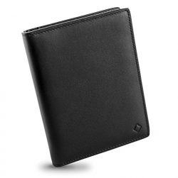 EGNT RFID Carbon Travel Wallet Passport Holder Cover Sleeve Case Genuine Leather Slim (Transit C ...