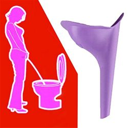 GUAngqi Travel Car Camping Pee Urine Ladies Urinal Funnel Device 1pcs