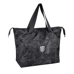 Women's Travel Tote Shoulder Handbag,Super polyester fibre Extra Large Lightweight Camo Wa ...