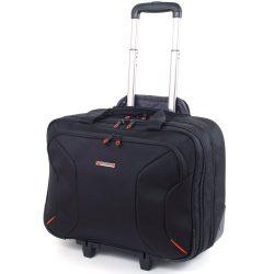 Alpine Swiss Rolling Briefcase on Wheels Roller 17″ Laptop Case W Tablet Sleeve