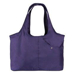 ZORESS Women Fashion Large Tote Shoulder Handbag Waterproof Tote Bag Multi-function Nylon Travel ...