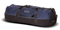 Ledmark Heavyweight Cotton Canvas Outback Duffle Bag, Blue, Giant 48″ x 20″