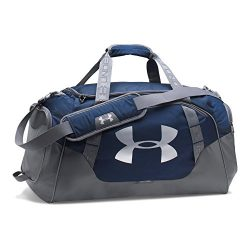 Under Armour Undeniable 3.0 Large Duffle Bag,Midnight Navy (410)/Silver, One Size