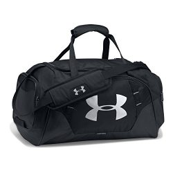 Under Armour Undeniable 3.0 Small Duffle Bag,Black (001)/Silver, One Size
