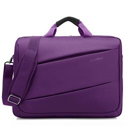 CoolBELL Shoulder Bag 17.3 Inch Laptop Bag Messenger Bag Briefcase Multi-compartment Handbag For ...