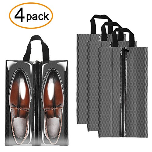 Sariok Travel Shoe Bags Waterproof Nylon Packing Organizer Storage For Men and Women Transparen .  sc 1 st  LuggageBee & Sariok Travel Shoe Bags Waterproof Nylon Packing Organizer Storage ...