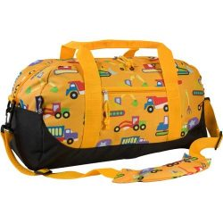 Wildkin Overnighter Duffel Bag, Features Moisture-Resistant Lining and Padded Shoulder Strap, Pe ...