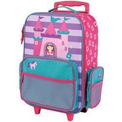 Stephen Joseph Classic Rolling Luggage, Princess