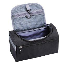 Travel Toiletry Bag Waterproof Bathroom Shower Bags with Hanging Hook Leak Proof Travel Essentia ...