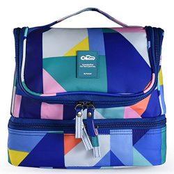 (New Design) Designer Hanging Toiletry Bag| Travel Cosmetics Bag by HANKCLES| Waterproof Nylon O ...