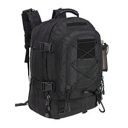 PANS Military Expandable Travel Backpack Tactical Outdoor Backpack DIY System for Travel,Hiking, ...