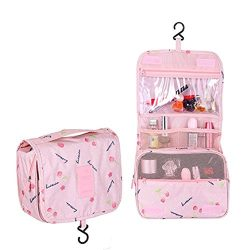 Multifunction Toiletry Cosmetic Bag Make up Kit Case Pouch Hanging Shaving Hook Travel Vacation  ...