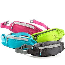 Fanny Packs for Women – Slim Yet Spacious Waist Pack w/ Multiple Compartments and Headphon ...