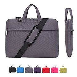 Laptop Case, Laptop Shoulder Bag, CROMI Simplicity Slim Lightweight Briefcase Commuter Bag Busin ...