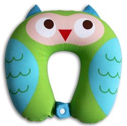 Nido Nest Kids Travel Neck Pillow – Best for Long Flights, Road Trips & Birthday Gifts ...