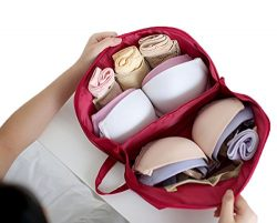 GIANCOMICS Multi-Functional Travel Underwear Bra Organizer Bag Luggage Organizers Packing Cubes  ...