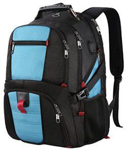 TSA Laptop Backpack,Large Capacity Travel Computer Bagpack with Organizer Pockets/USB Port/Headp ...