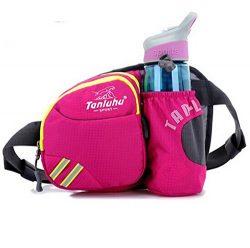 Ska Direct® Lumbar Waist Pack – Running Bag Belt with Water Bottle Holder – Waterpro ...
