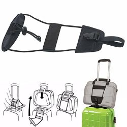 Luggage Bag Strap Bungee, Travel Luggage Suitcase Bag Strap Add a Bag Bungee Cords Elastic to Ho ...