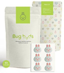 Bug Buds Mosquito Repellent Patch | DEET-Free 24hr All-Natural Bug Insect Repellent Stickers for ...