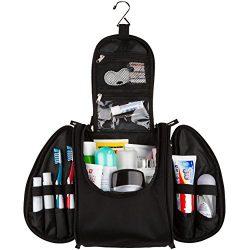 42 Travel Hanging Toiletry Bag – Large Kit Organizer for Men & Women – Spacious & Compac ...
