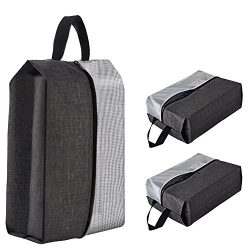 3 Pack Portable Travel Shoe Bags, CGBE Shoe Bag Lightweight Luggage Organizer Pouch For Men &amp ...