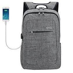 Kopack Slim Business Laptop Backpacks Anti Thief Tear Water Resistant Travel Bag for 15 15.6 Inc ...