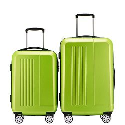 Fochier Luggage 2 Piece Set Lightweight Spinner Suitcase 20inch 24inch