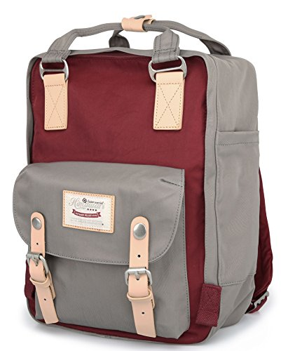 d07f84d9a016 Himawari Backpack Waterproof Backpack 14.9″ College Vintage Travel Bag for  Women,13inch L
