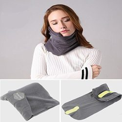 Travel Pillows – Soft Neck Support Pillow – Pillows which Provide Neck Support – Ergonomic and W ...