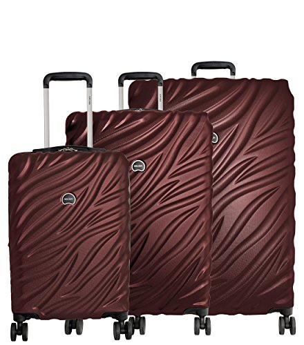 2e933fcd6947 Delsey Paris Luggage Alexis 3-Piece Spinner Hardside Luggage Set (21 ...